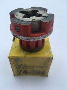 Armstrong 3 4 Bolt Nc Die Head Power Threading Pipe Dies Power Pony Fits Ridgid