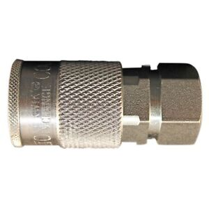 1 5 Milton 1835 Coupler 3 8 Female Npt H style 3 8 Series Free S