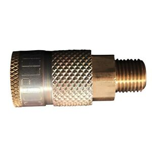 1 10 Milton 786 Coupler 1 4 Male Npt T style 1 4 Basic Flow Free S