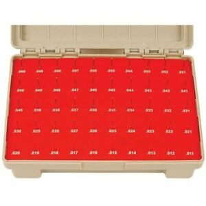 Vermont Gage Class Zz Pin Gage Set Measuring Range 0 0110 0 0600