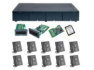 Avaya Ip500 V2 Ip Office R8 1 Essential Edition Complete Digital System Package