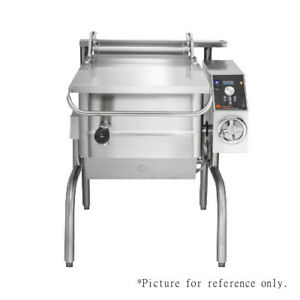 Groen Bpm 40ec Electric Tilting Skillet Braising Pan 15 0 Kw replaces Bpm 40e