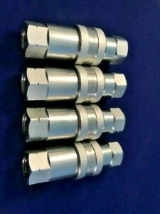 1 4 Npt Iso 7241 1 a Coupling Hydraulic Quick Disconnect Sms 04 af am 4 Sets