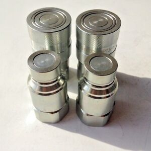3 4 Npt Iso 16028 Ff Coupling Hydraulic Quick Disconnect Sms ff 12 2 Sets