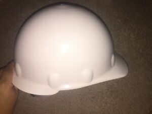 Fibre metal By Honeywell Se201a000 Hard Hat front Brim g ratchet white