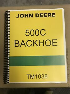 500c John Deere Backhoe Tractor Technical Service Repair Manual 500 C