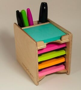 Sticky Notes Post it Pad And Pen Holder includes 5 Pads 3 X 3