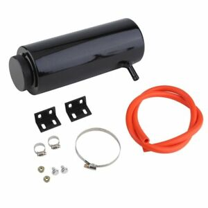 Universal Aluminum Radiator Coolant Catch Tank Overflow Reservoir Breather Evip