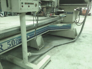 Komo Vr 508 3 axis Cnc Router 1993 Dual Spindle Dual Drill