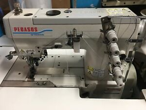 Pegasus W1562 Flatbed Interlock Coverstitch Sewing Machine