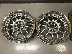 Work Rs Beta16x8 25 4x114 Jdm Pair Only Dc2 Crx Integra Civic S13 S14 Ae86