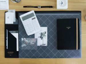 10day Shipping Stay Desk Pad 22 X 13 Black
