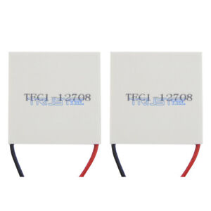 Tec1 12708 Heatsink Thermoelectric Cool Cooler Heating Peltier Plate Module 2pcs