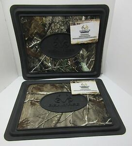 Realtree Outfitters Ap Camo Utility Floor Mats Car Suv Truck Set 2