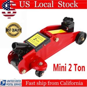 Portable 2 Ton Floor Jack Vehicle Cars Garage Auto Small Hydraulic Lift Z0