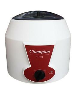 Ample Scientific Champion E 33 Bench top Centrifuge With 0 30mins Timer