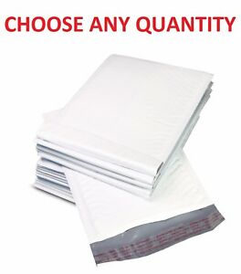 0 6x10 Poly Bubble Mailers Shipping Mailing Padded Bags Envelopes 6 X 9