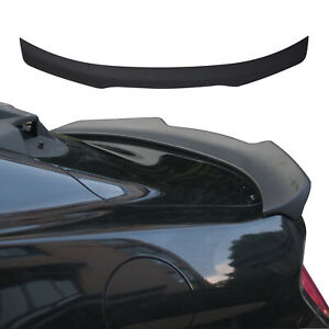 Gloss Black Gt350 Style Track Pack Trunk Spoiler Lip Wing For 15 17 Ford Mustang
