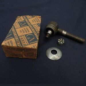 Nos 1939 Chevy Ja Passenger master Deluxe Tie Rod End Dust Cover Gm 605936
