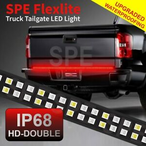48 2 Row Led Rear Brake Signal Reverse Truck Tailgate Light Strip Bar Pick Up