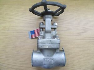 Powell Gate Valve 1 1 2 Ga08t6logb C 800 Cast Stainless 1600 Psi