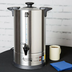 Avantco 55 Cup Stainless Steel Commercial Coffee Machine Urn Warmer