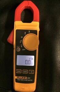 Fluke 324 True Rms Digital Clamp Meter Multimeter 600v