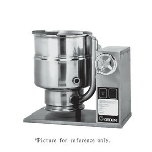 Groen Tdbc 48c Countertop 48 quart Crank Tilt Electric Kettle replaces Tdbc 48
