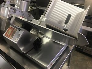 Globe C12 Chefmate Food Slicer Manual 12 Blade