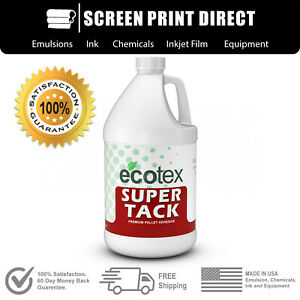 Ecotex Super Tack Premium Pallet Adhesive For Screen Printing 1 Gallon