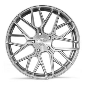Rohana Wheels Rim Rfx10 20x10 5x120 25et Brushed Titanium