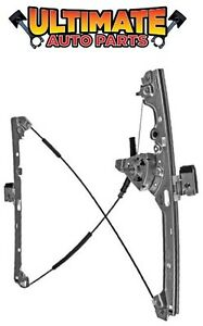Front Manual Window Regulator Drivers Lh For 99 07 Chevy Silverado