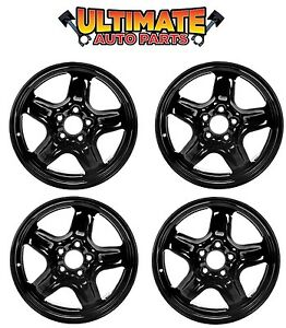 Steel Wheel Rim 17 Inch Wheels Set Of 4 For 10 11 Ford Fusion