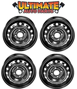Steel Wheel Rim 15 Inch Wheels set Of 4 For 09 14 Nissan Cube