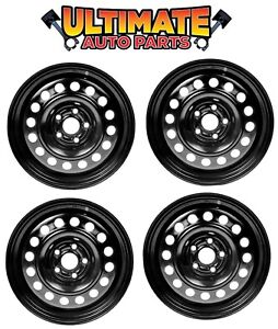 Steel Wheel Rim 15 Inch Wheels set Of 4 For 03 08 Toyota Corolla
