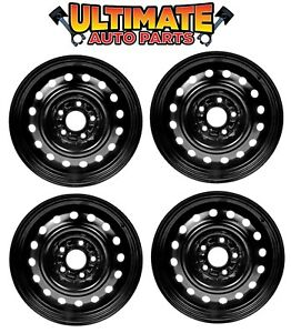 Steel Wheel Rim 16 Inch Wheels Set Of 4 For 02 06 Nissan Altima