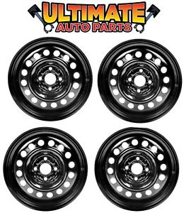Steel Wheel Rim 15 Inch Wheels set Of 4 For 01 05 Honda Civic