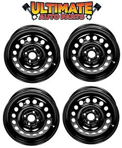 Steel Wheel Rim 15 Inch Wheels set Of 4 For 11 14 Mazda 2