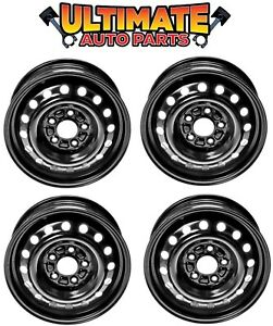 Steel Wheel Rim 15 Inch Wheels set Of 4 For 14 16 Kia Forte