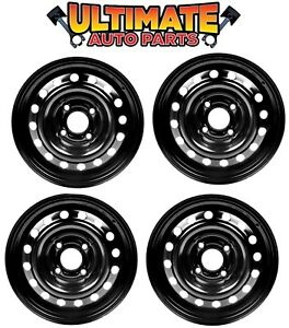 Steel Wheel Rim 15 Inch Wheels set Of 4 For 07 09 Kia Spectra Or Spectra5