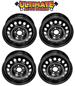 Steel Wheel Rim 14 Inch Wheels set Of 4 For 92 05 Chevy Cavalier
