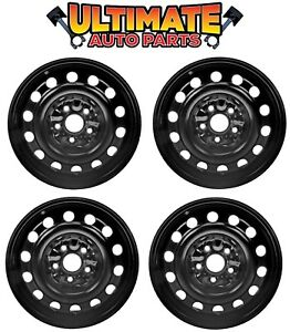 Steel Wheel Rim 16 Inch Wheels set Of 4 For 07 11 Toyota Camry