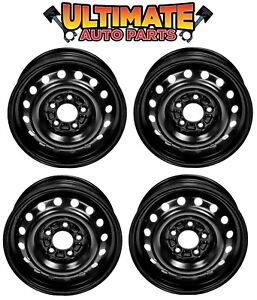 Steel Wheel Rim 15 Inch Wheels Set Of 4 For 04 05 Chevy Malibu Classic