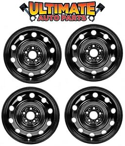 Steel Wheel Rim 17 Inch Wheels set Of 4 For 11 14 Chrysler 200