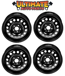 Steel Wheel Rim 15 Inch Wheels set Of 4 For 95 05 Chevy Cavalier