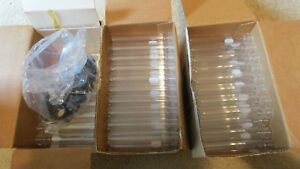 New 25 Corning Pyrex Glass 25ml Culture Tubes With Caps 25 X 150mm 9826