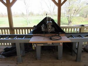 18 Or 16 Rockwell Delta Compound Radial Arm Saw Have 18 Blade Guard