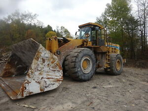 1998 Kawasaki 115z iv Wheel Loader Nice 50 Ton Unit Gp Bucket 115 Cummins Qsk