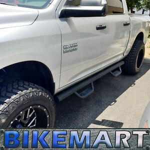 09 18 Dodge Ram 1500 2500 3500 Crew Cab Fit Drop Step Running Boards Nurf Bars