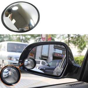 2 X Blind Spot Mirror 3 Wide Angle Convex Convex Rear Side View Cars Trucks Suv